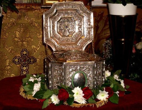 Αποτέλεσμα εικόνας για Η Τίμια Κάρα του Αγίου Ραφαήλ