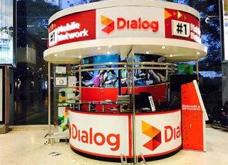 Boutique dialog a l'aéroport