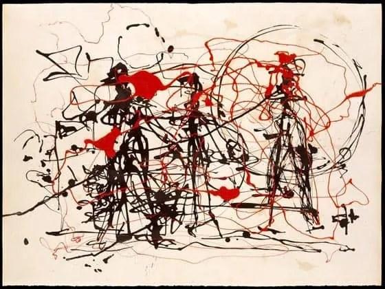 Untitled (sin año), Jackson Pollock