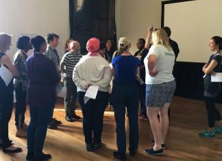 An ASSITEJ Cradle of Creativity workshop