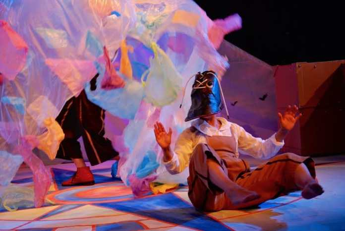 Aside from the lighting, an abundance of colour is shown through several props incorporated throughout the Performance, which seemed to transport the audience on an adventurous journey.