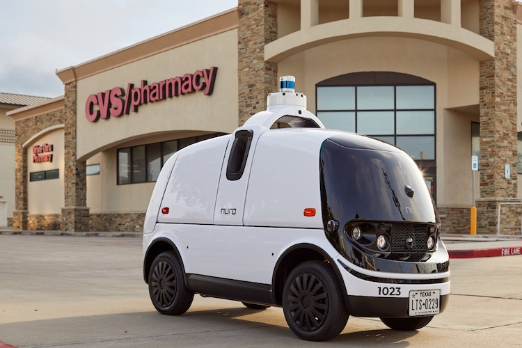 Road to Singularity - Nuro and CVS Self Driving Shuttle