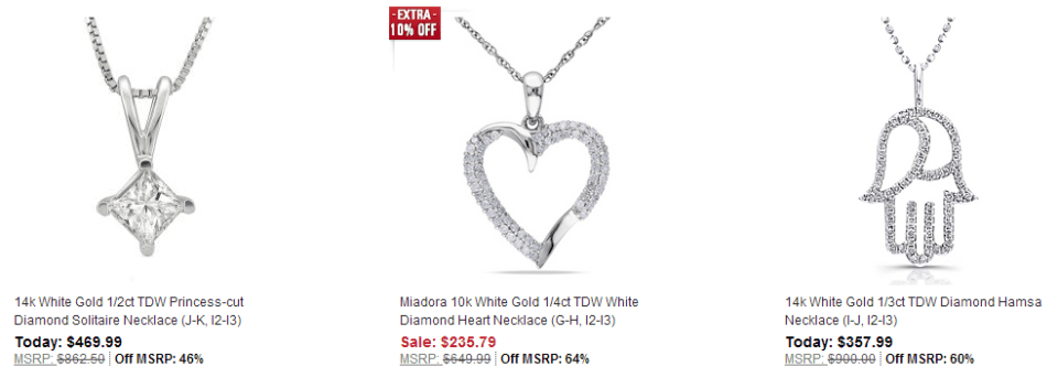 Diamond Discounts on Overstock