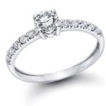 1/2 cttw GIA diamond wedding band