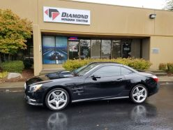 Benz Seattle auto glass tinting