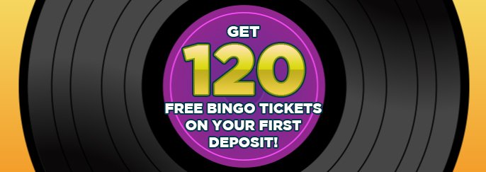 Sing Bingo: Get 120 free bingo tickets on your first deposit of £10 or more!