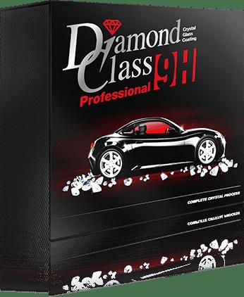 Diamond Class Professional Glass Coating