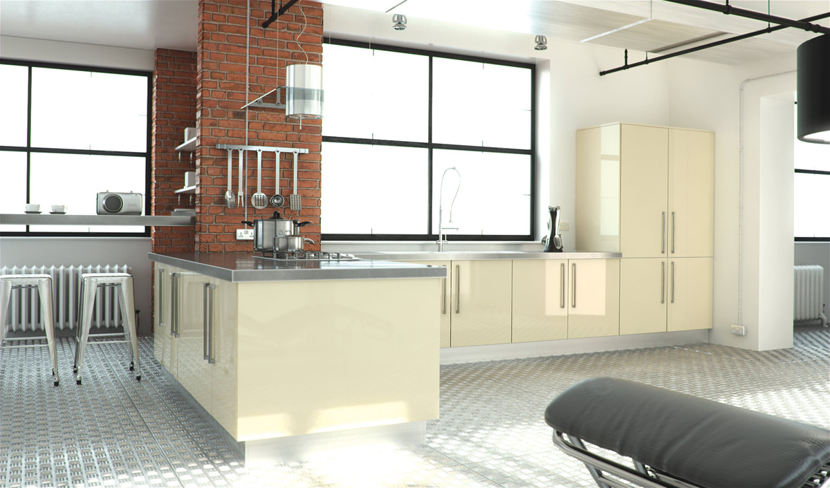 High Gloss Kitchens Dublin Fitted Kitchens Bespoke