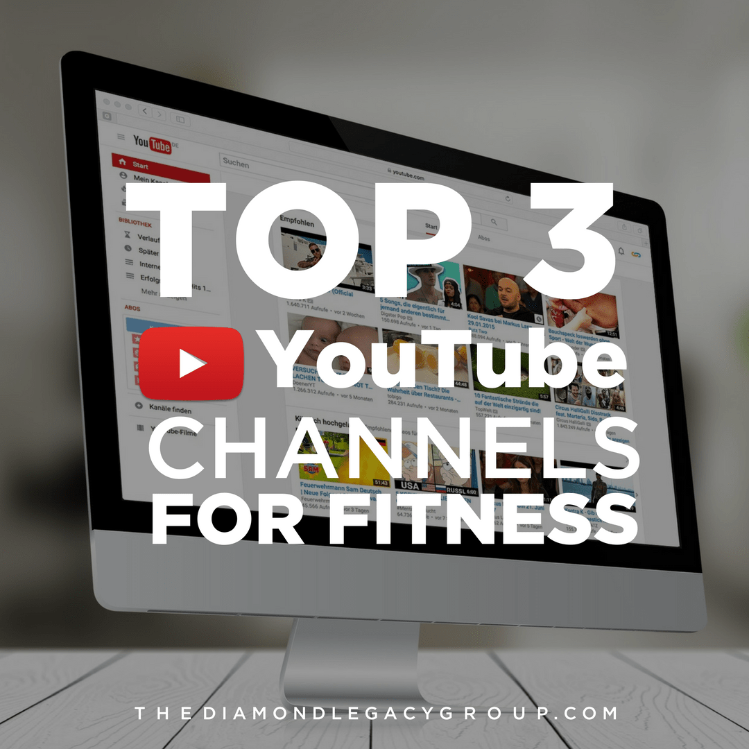 Top 3 YouTube Channels for Fitness