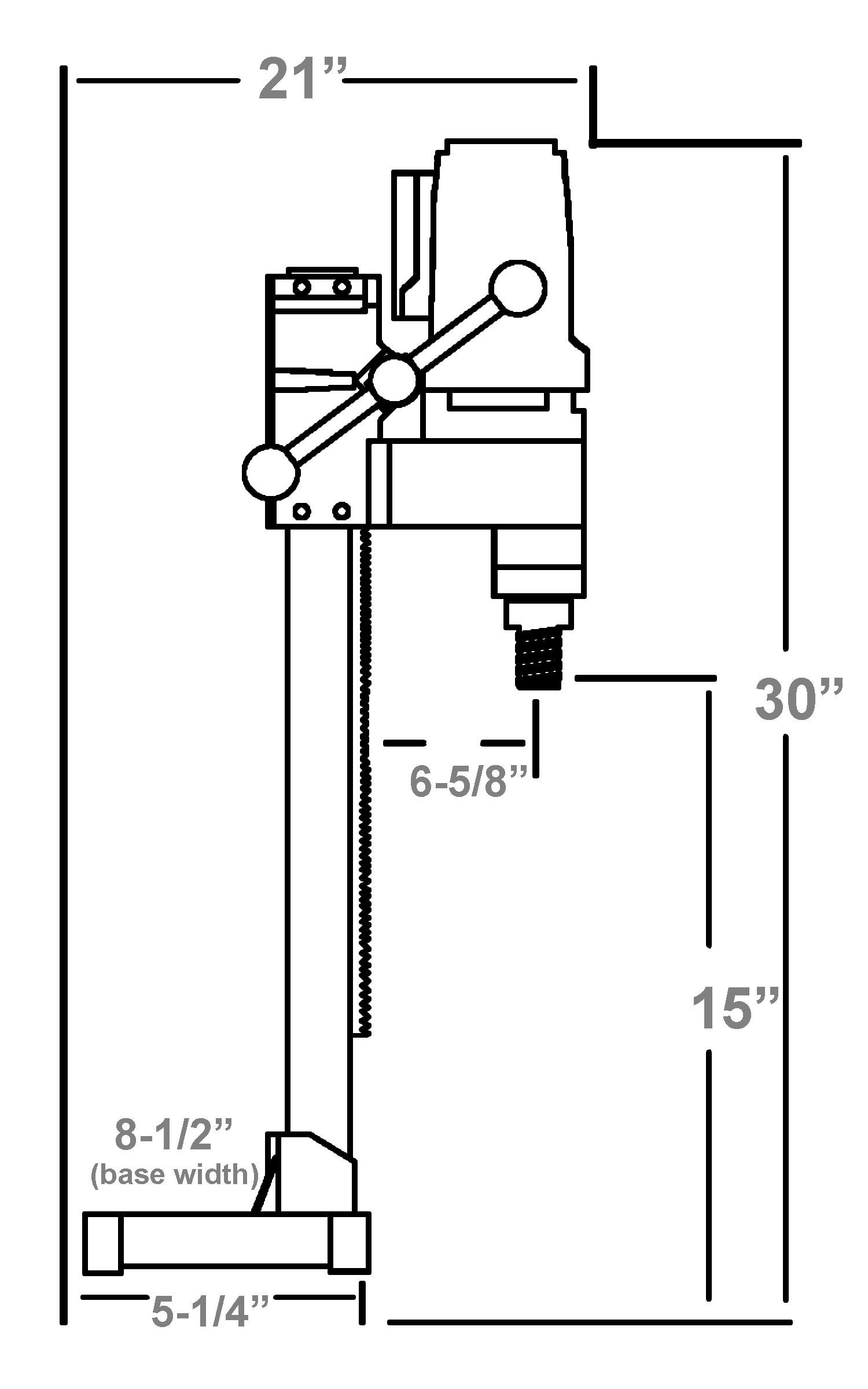 M1aa Portable Core Rig