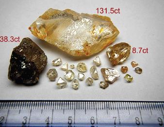 131.5 carat diamond