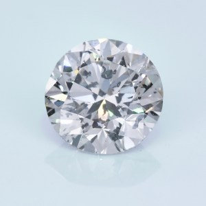 1.52 carat loose round diamond. I1, L