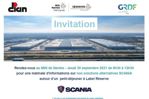 30/09/2021 – MiN de Nantes – Matinale d'informations sur nos solutions alternatives Scania