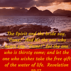 The Spirit and the bride say, -Come!- (1)