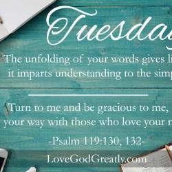 Psalm 119 W6D2