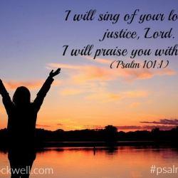Psalm Sunday- Psalm 101