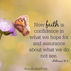 Faith Is…….