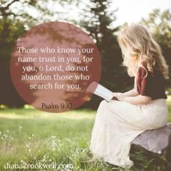 Psalm Sunday- Psalm Nine