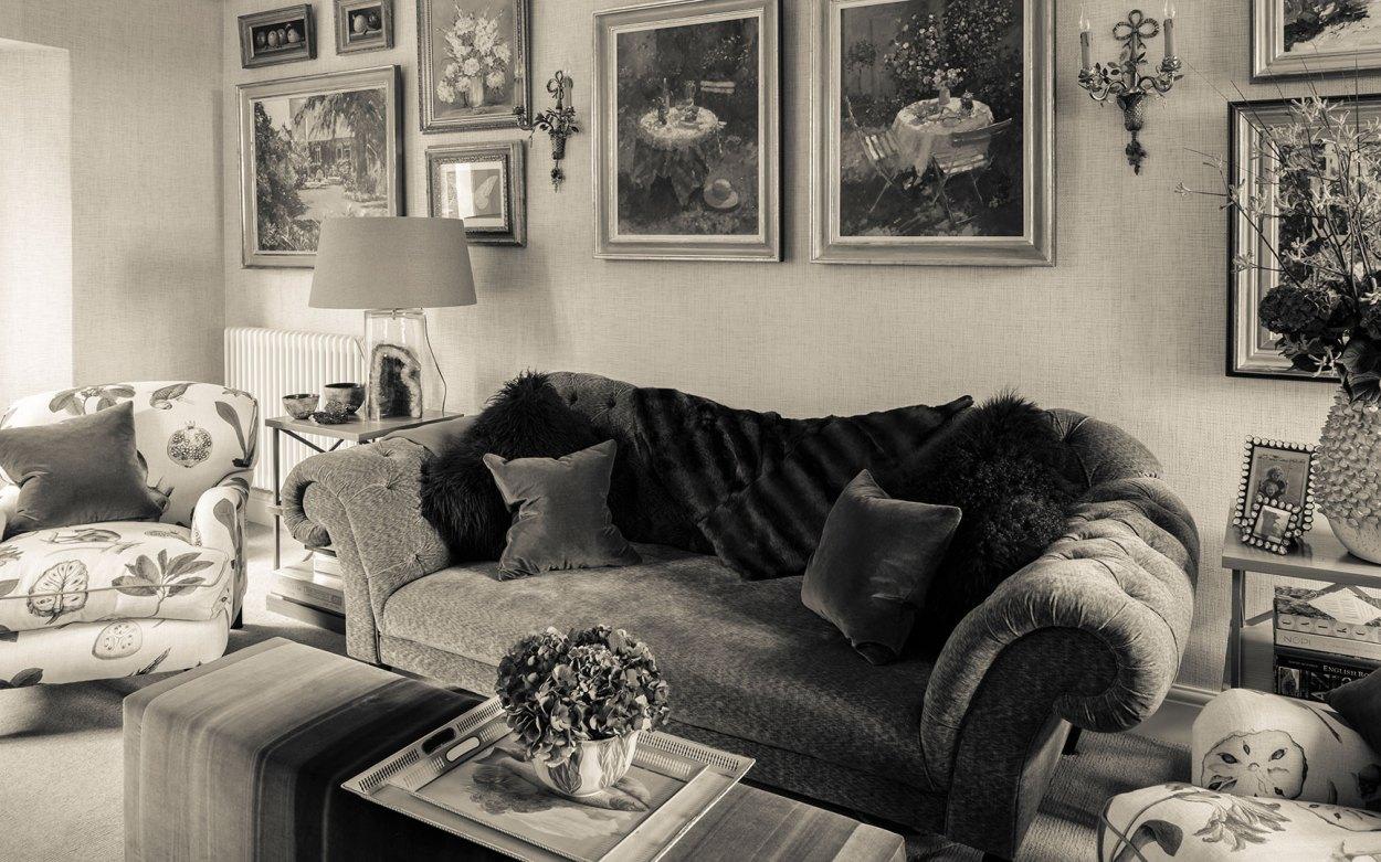 Interior Design - Victorian villa - living room