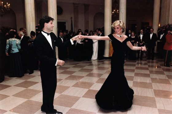 lady Diana dancing