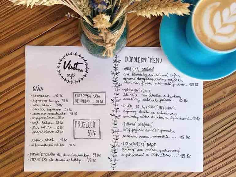 VisitInn Cafe - Dopolední menu