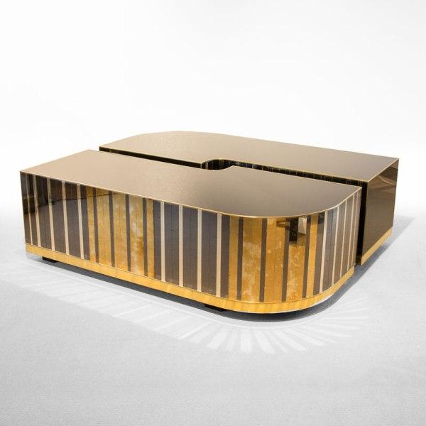 Mesas de Centro Grandes. Mesas de Centro Diseño de Cristal | Diana Graña