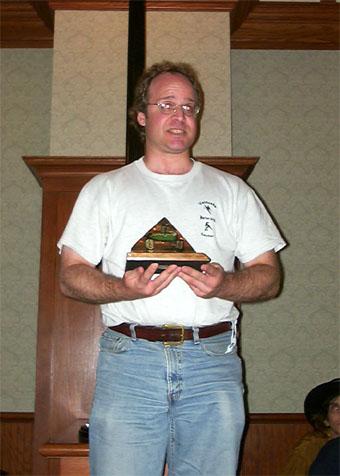 Diana Jones Award winner Ron Edwards makes his acceptance speech