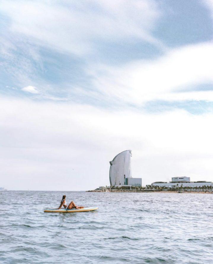 Barceloneta beach hotel W
