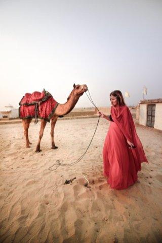Jaisalmer desert camel ride