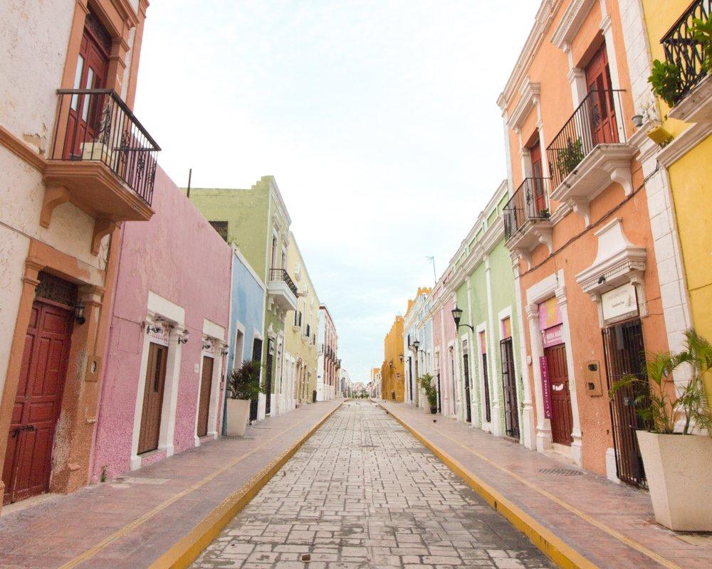 350ece861ec84 Campeche ha sido incluída en este listado por su preservado centro  histórico colonial