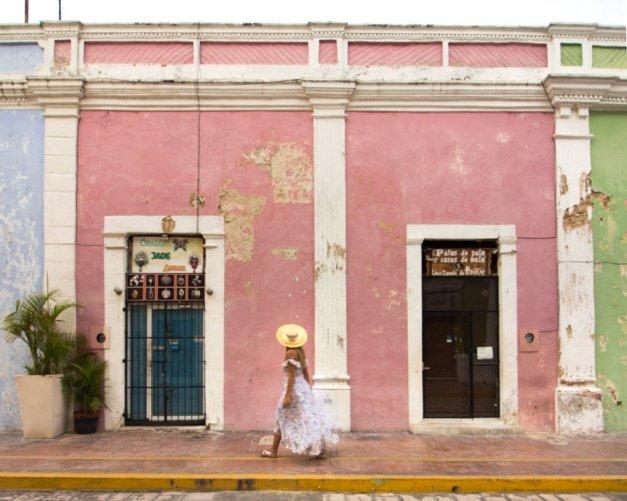 Campeche Mexico Colores