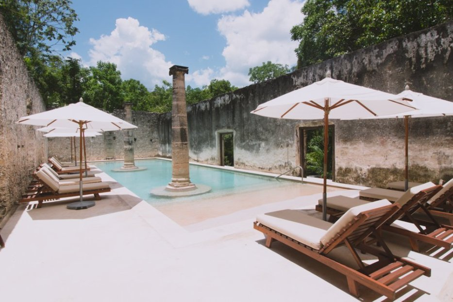 Hacienda Uayamon Pool