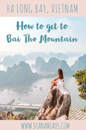 Bai Tho Mountain Ha Long Bay Vietnam