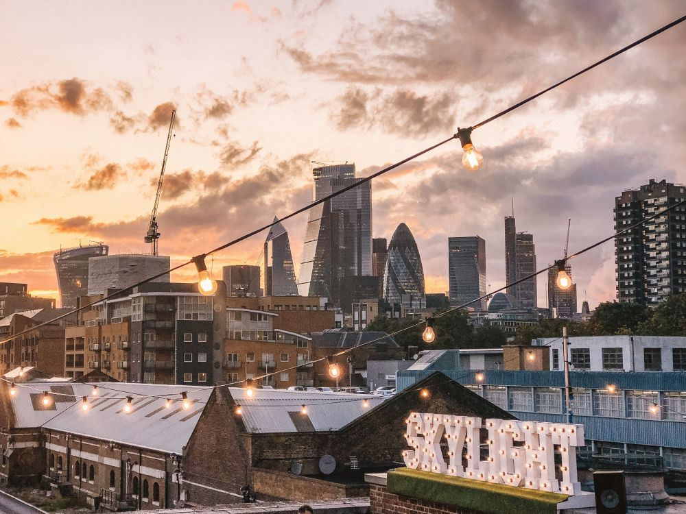 Skylight rooftop London