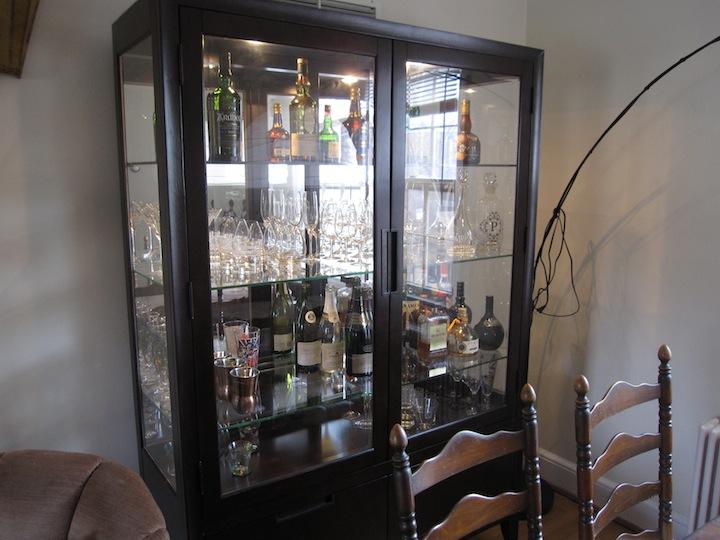 Ikea Liquor Cabinet Home Decor