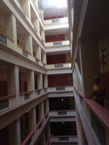 5th floor of Hotel Sevilla