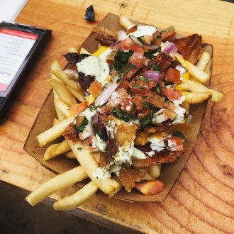 Papa Pork fries at steel craft - Pig Pen