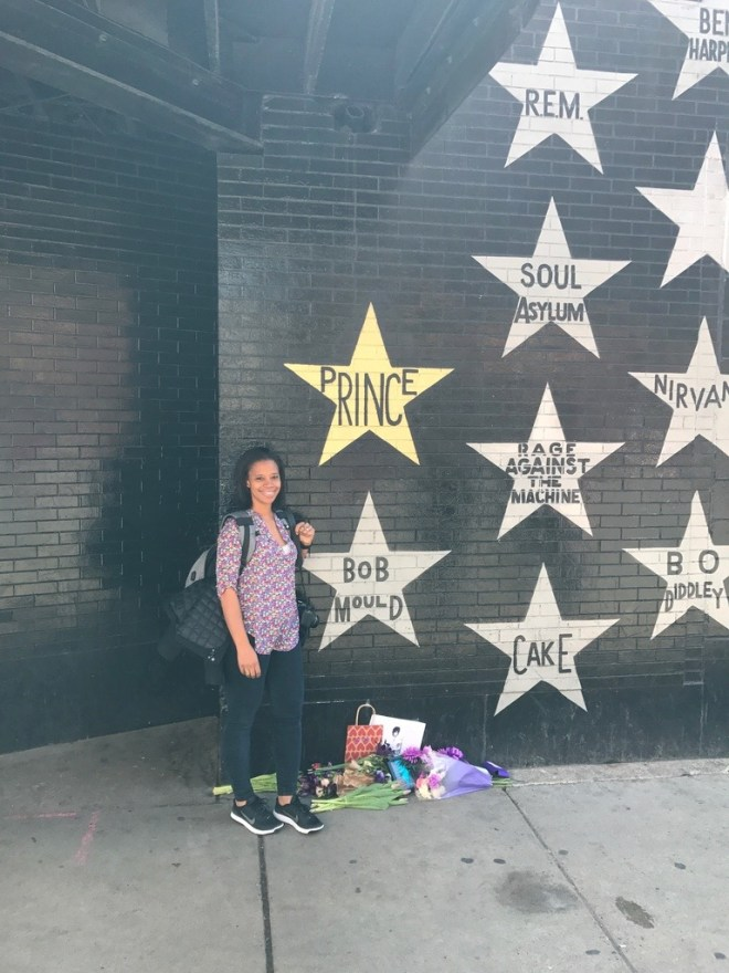 Outside of First Avenue