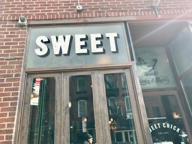 Outside of Sweet Chick