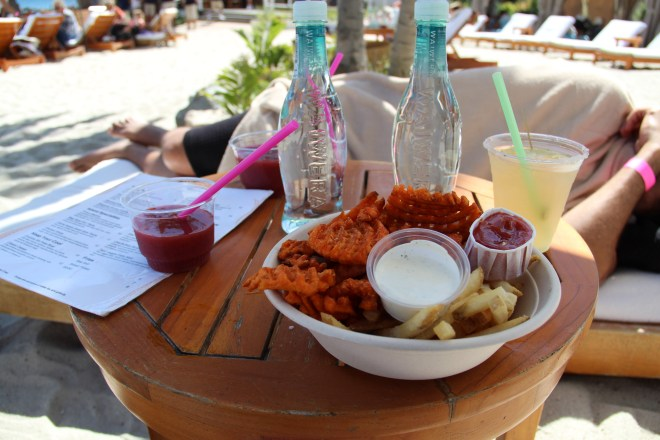 Catalina Island - cabana food