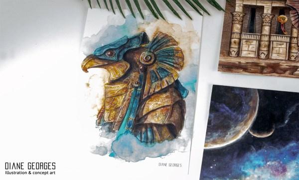 Horus jaffa helmet