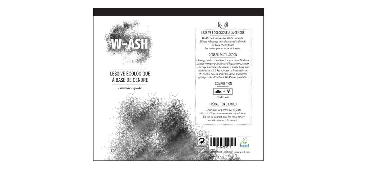 déroulé packaging WASH lessive