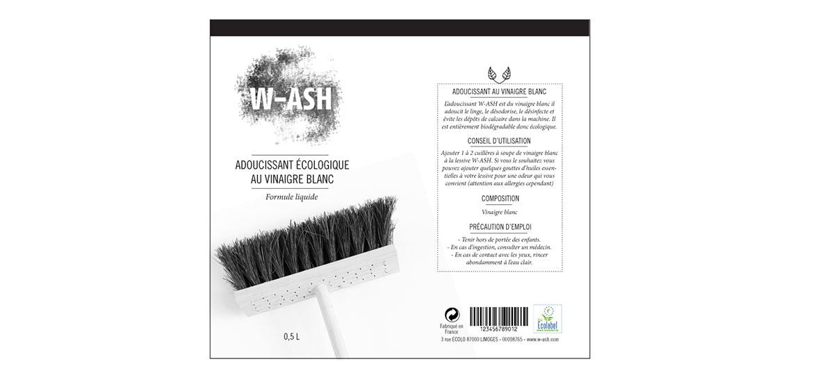 déroulé packaging WASH adoucissant