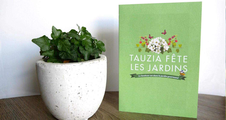 invitation Tauzia fête les jardins