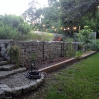 Backyard Ideas for Gabion Walls