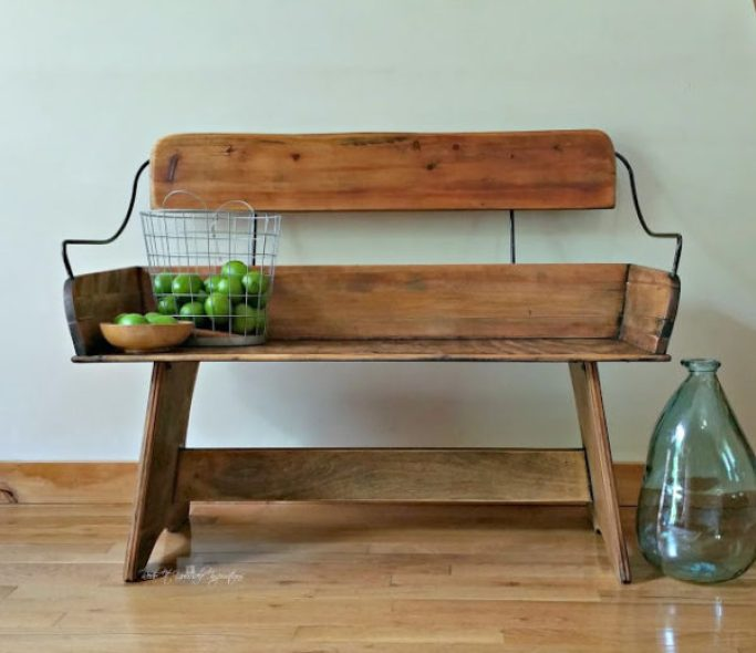 carriage bench