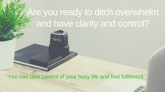 Ditch overwhelm find clarity