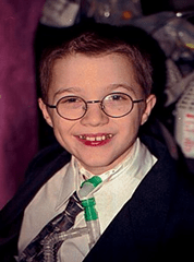 Image of Mattie Stepanek and amazing person and everyday hero in 2004 shortly before his death at age 13.