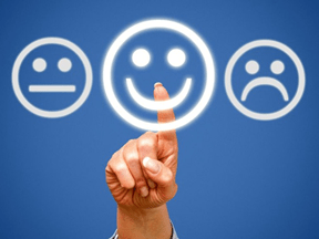 Your Inner Strength: Hope Indifferent, happy and sad faces