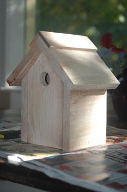 Birdhouse plain